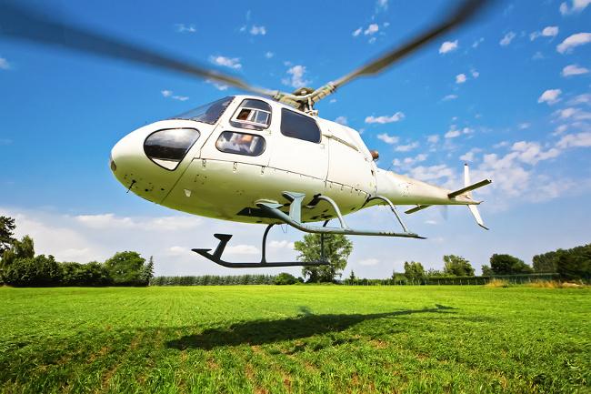 Helikopter – Schnupperkurs