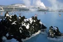 Island Blue Lagoon Winter